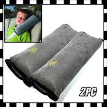 Tampas de cinto de segurança do carro cinto de segurança travesseiro protetor almofada para crianças 1pc alça de ombro almofadas cabeça suporta