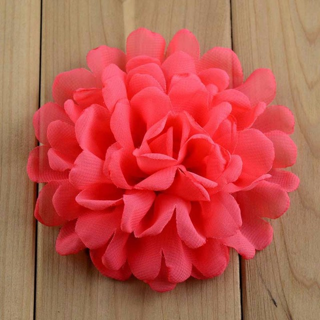 20pcs lot 4  burned chiffon flower fabric flowers for diy crafts and     20pcs lot 4  burned chiffon flower fabric flowers for diy crafts and hair  accessories
