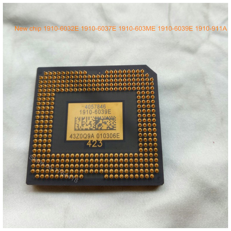 Original Brand New 1910-603ME 1910-6039E 1910-6037E 1910-6032E 1910-911A DLP Chip DMD Chip for Benq W1070 Optoma Projector chip for samsung proxpress slc 462 w c 462 w 4063s c460fw 3304 els xaa xil see brand new digital copier chip fuse