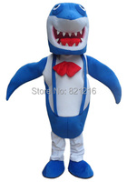 Профессиональные Новый Голубая Акула Костюм Талисмана Взрослых Размер Необычные Dres