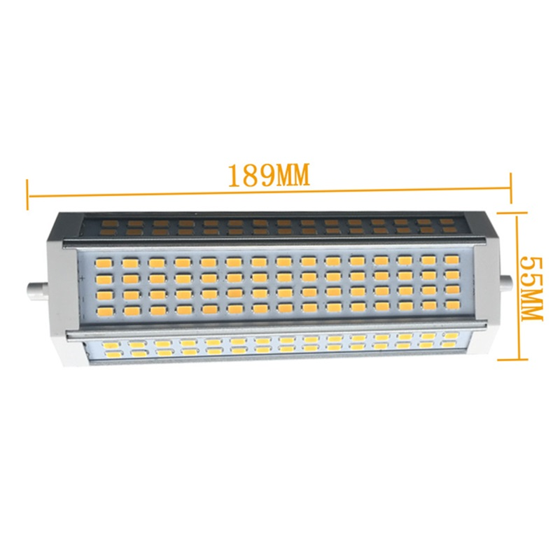 High Power 50W LED R7S J189 AC85-265V 4700LM 200degree Dimmable or Non-dimmable 5630smd 120leds Aluminum R7S led bulb light