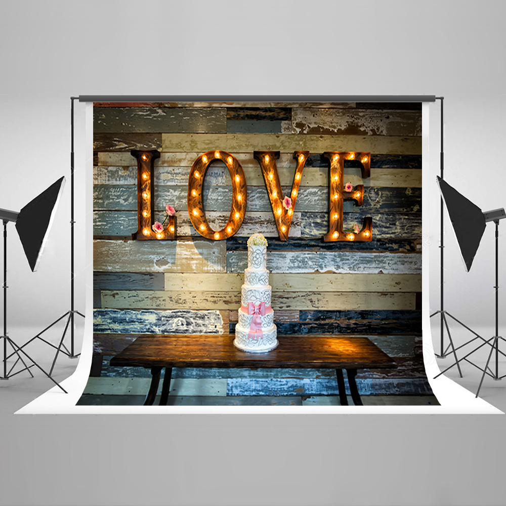 Valentine's Day Photography Background Windy Love Cake Computer Printing Backdrops Template Wall Backgrounds for Photo Studio зимний комбинезон windy peak
