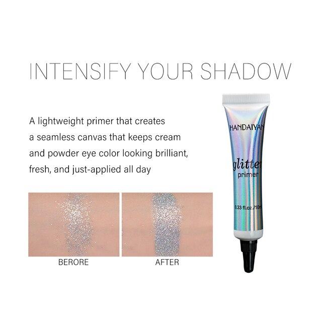 Eye Makeup Base Long Lasting Glitter Primer Glue Pre-makeup Cream For Eyeshadow And Lip Make up Sequins Fixed Foundation Primer 2