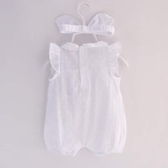 c75908b8aa74 placeholder 2018 Summer Baby Girl Rompers Lace cotton Jumpsuit Floral Baby  Clothing Princess Toddler Romper Newborn Baby