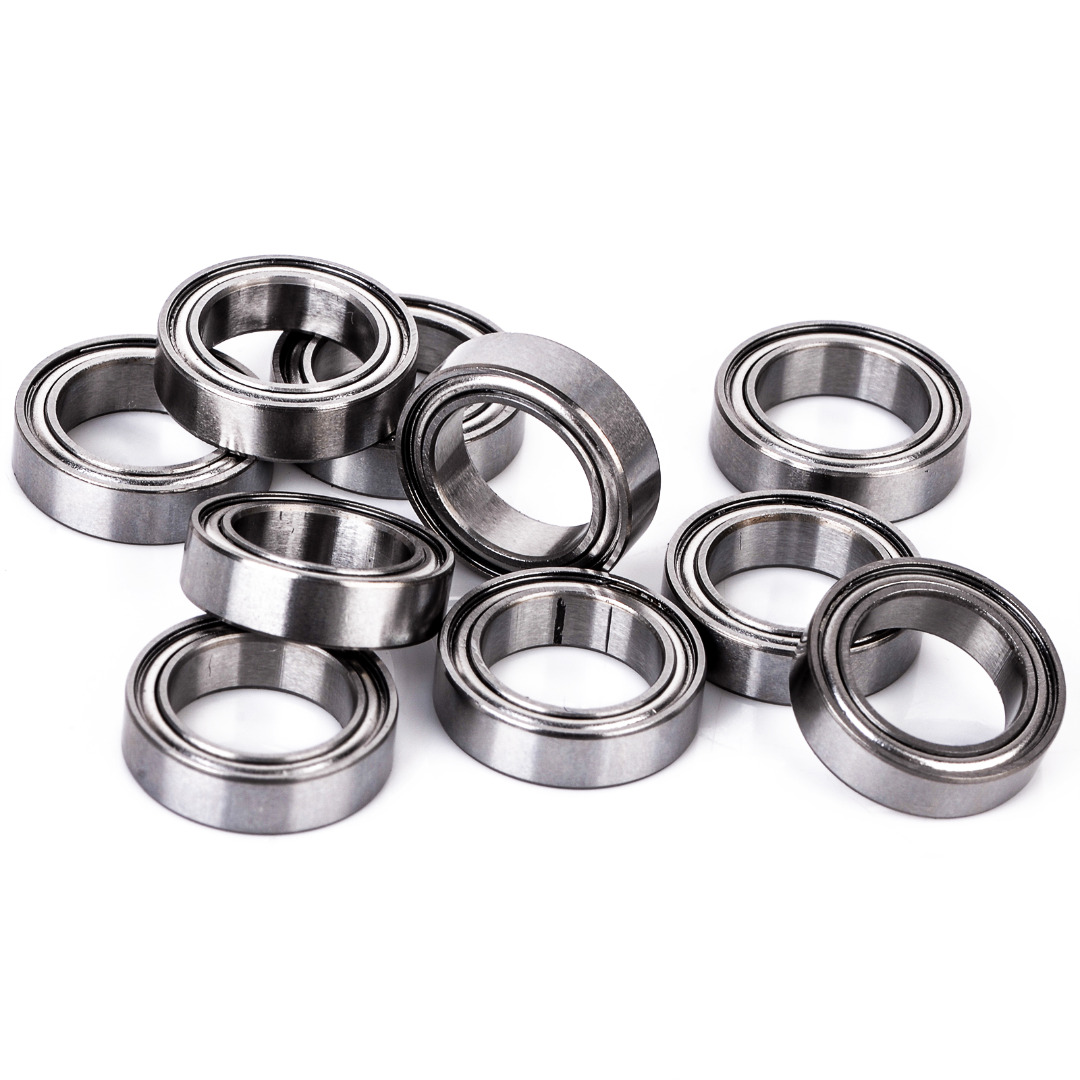 цены 10Pcs Shielded Ball Bearing 10x15x4 mm 6700ZZ Steel Metal Shielded Ball Bearings Thin Wall Roller For Many RC Cars And Trucks