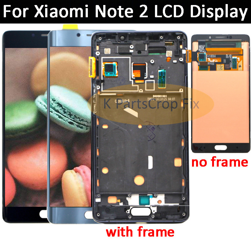 Xiaomi Mi Note 2 LCD Display Touch Screen Digitizer Assembly Note2 Display For 5 7 Xiaomi