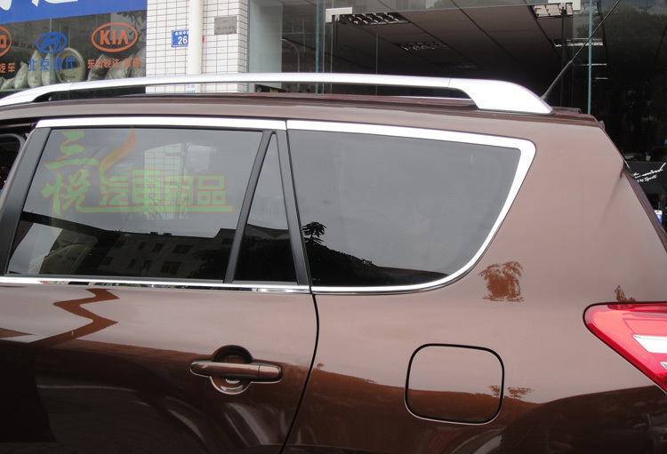 North American Type 2006 2007 2008 2009 2010 2011 2012 Toyota Rav4 Rav 4 Factory Style Roof Rack Side Rails Bars Silver north american type 2006 2007 2008 2009 2010 2011 2012 toyota rav4 rav 4 factory style roof rack side rails bars silver