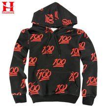 2017 Headbook Emoji Hoodies 100 Punkte 3d Sweatshirt Männer/frauen Mit Kapuze Hoodies Mit Fronttasche Casual Hoody Sweatshirts