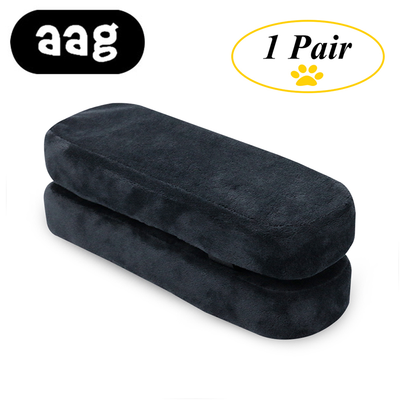 AAG Chair Armrest Pads Memory Foam Elbow Pillow Support Arm Rest Covers For Office Chair Armrest Chair Cushion Pads Elbow Relief(China)