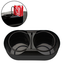 Universal Dual holes drink holders auto bottles organizer Car cup holders mount support accessories
