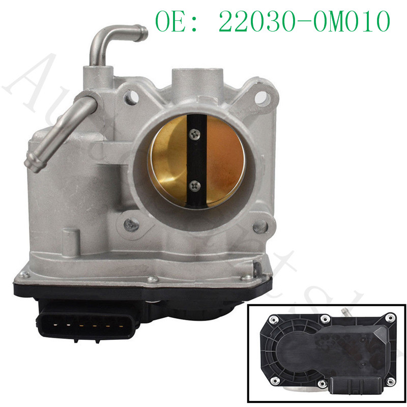 Good New Throttle Body For Toyota Yaris 1.5L 2007 2012 OEM # 22030 21030 22030 0M010 2203021030 220300M010|Throttle Body| |  - title=