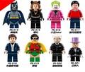 8pcs/set Universe DC Comics Arkham Knight Joker Batman VS Superman Action Figure Toy Dawn of Justice League Toy The Dark Knight