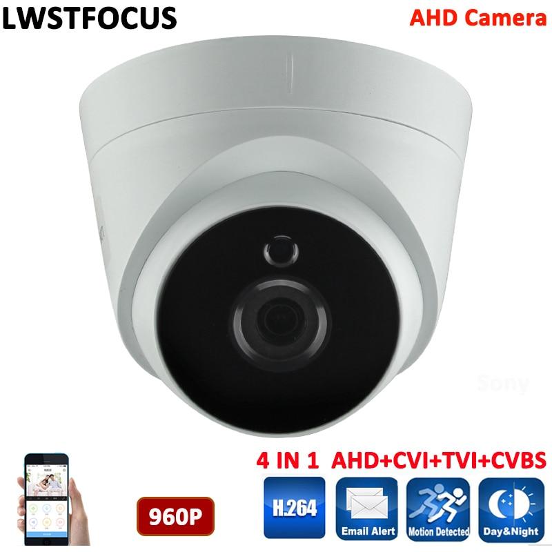 ФОТО Amazing high quality 960P AHD Camera 1/3'' S3130+HTC960 Indoor Dome Surveillance CCTV SONY Camera IR Cut 1.3MP AHD Cam
