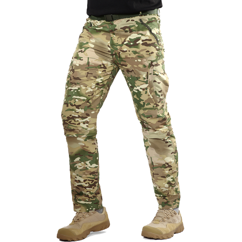 Pants Military-Trousers Two-Part Tactical Summer New Legs Removable Armed Drying Forces