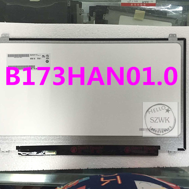 17 3 inch 1920x1080 ips screen B173HAN01 B173HAN01 0 LP173WF4 SPB1 for lenovo Y70