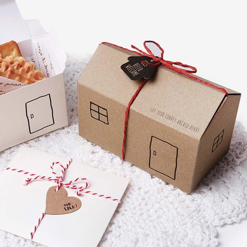 50 PCS/Lot Kraft bricolage Vintage mini valise Boîte De Bonbons avec des Étiquettes D'emballage de Chocolat coffret cadeau Doux Sacs Parti Faveur De Mariage Invités