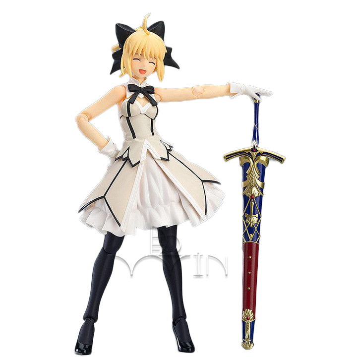 New Figma EX-038 Fate/Grand Order Saber Lily PVC Figure Anime Toy Gift anime plum fate grand order lancer pvc action figure collectible model doll toy 31cm new hot