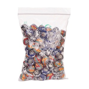 Image 5 - 100pc 15mm Handmade Indonesia Beads With Alloy Cores Round Mixed Color For DIY Jewelry Making Bracelets Supplies
