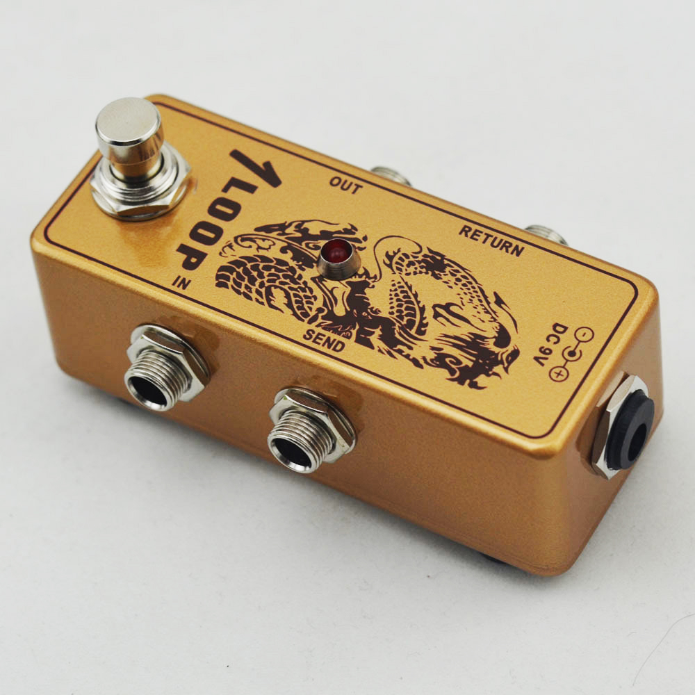 Aliexpress.com : Buy Mini GOLD Loop switch pedal True Bypass for ...