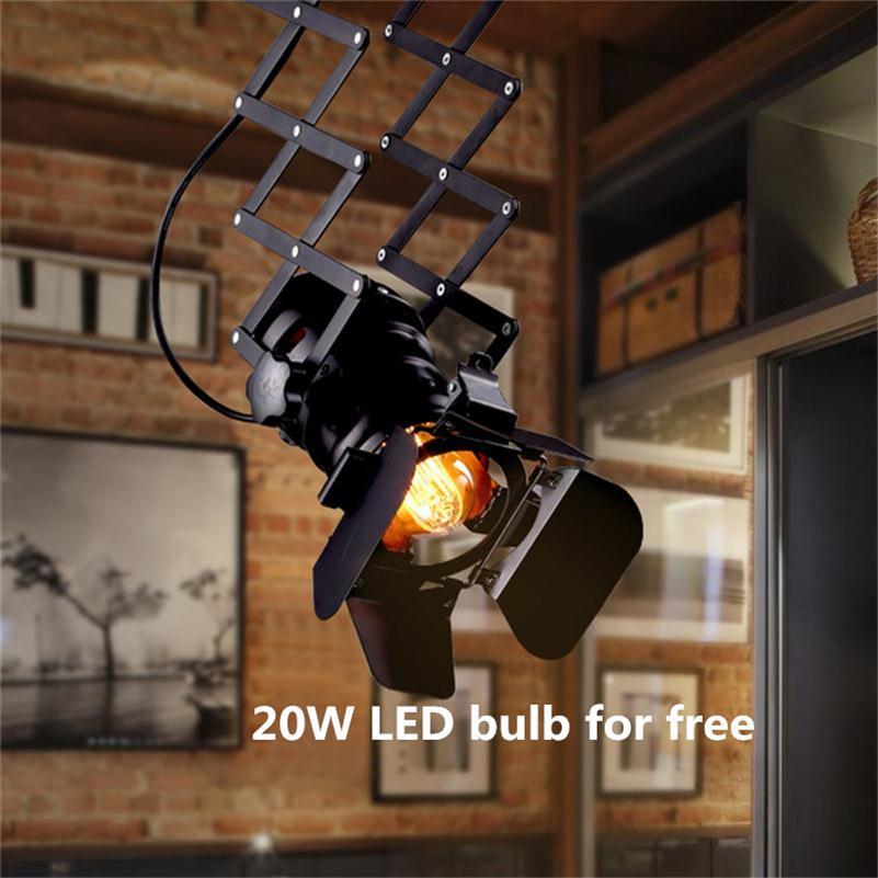 loft art industrial led track lighting showrooms clothing store bar restaurant spotlights american vintage four leaf art track lighting