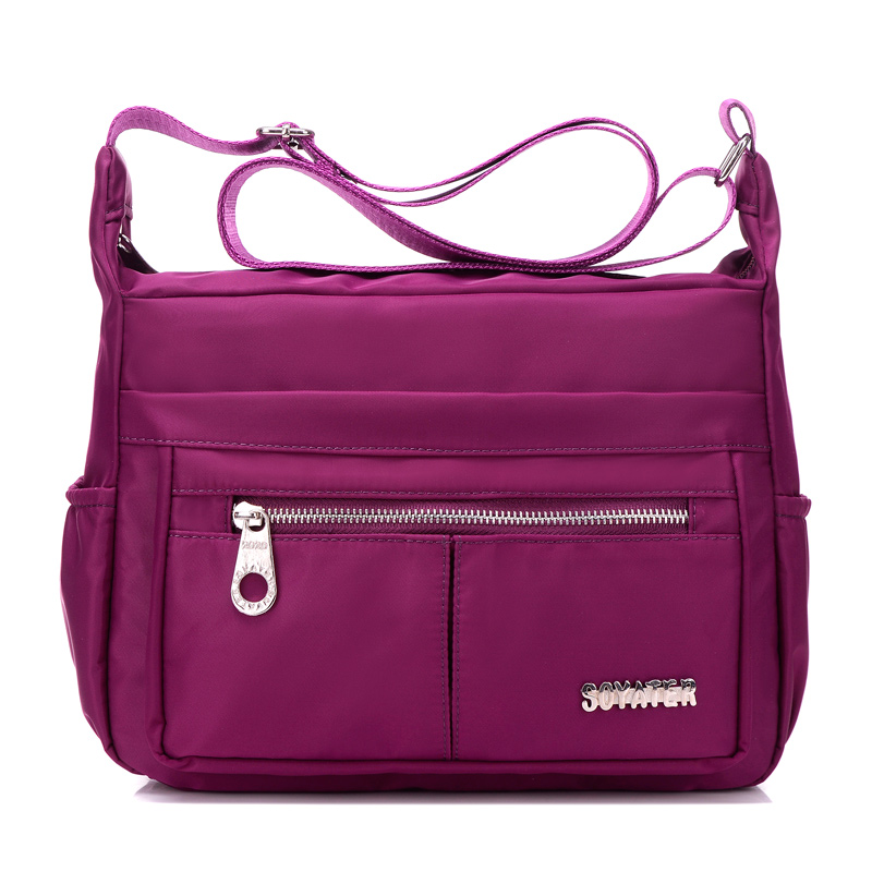 New Women Messenger Bags for Women Waterproof Nylon Handbag Female Shoulder Bag Ladies Crossbody Bags bolsa sac a main femme de zooler crossbody bags for women new ladies messenger bag crocodile genuine leather small shoulder bag sac a main femme de marque
