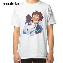 2018 Voltron & Klance Print T Shirt Men 2017 Summer Casual Short Sleeve White Plus Size High Quality Comfortable T