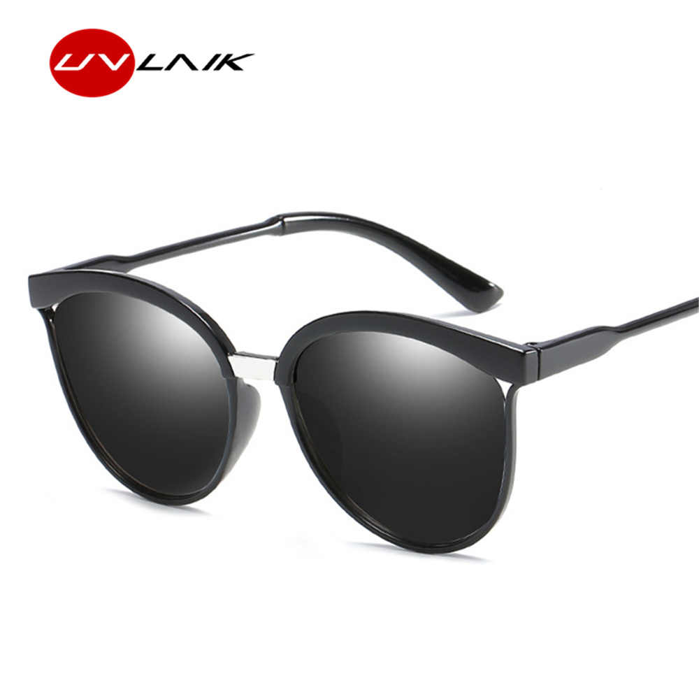 ccd8f24c23 ... UVLAIK Vintage Cat Eye Sunglasses Women High Quality Brand Designer  Fashion Sun glasses for Men Retro ...