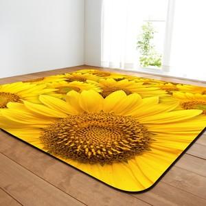 4 размера коврик с принтом подсолнуха и ковер для дома, гостиной и спальни, домашний декор, ковры, журнальный столик, прямоугольные маты