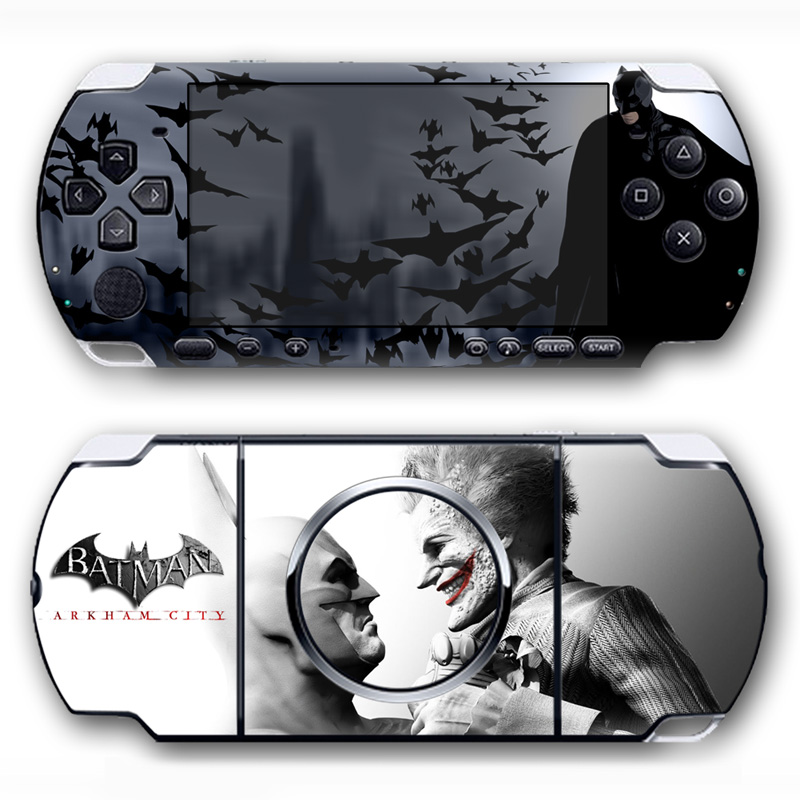 Free drop shipping Waterproof vinyl decal for PSP 3000