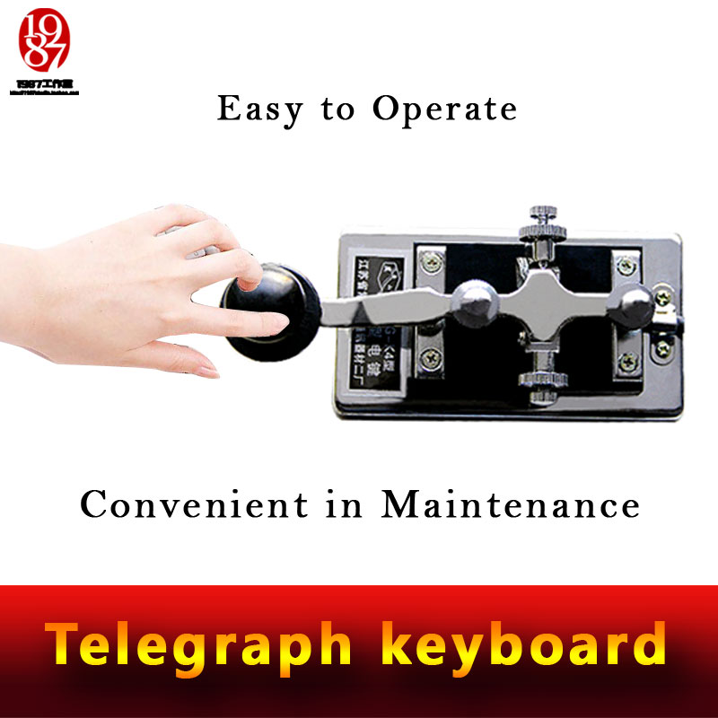 Morse Code device escape room adventurer game prop enter password code via telegraph keyboard to unlock