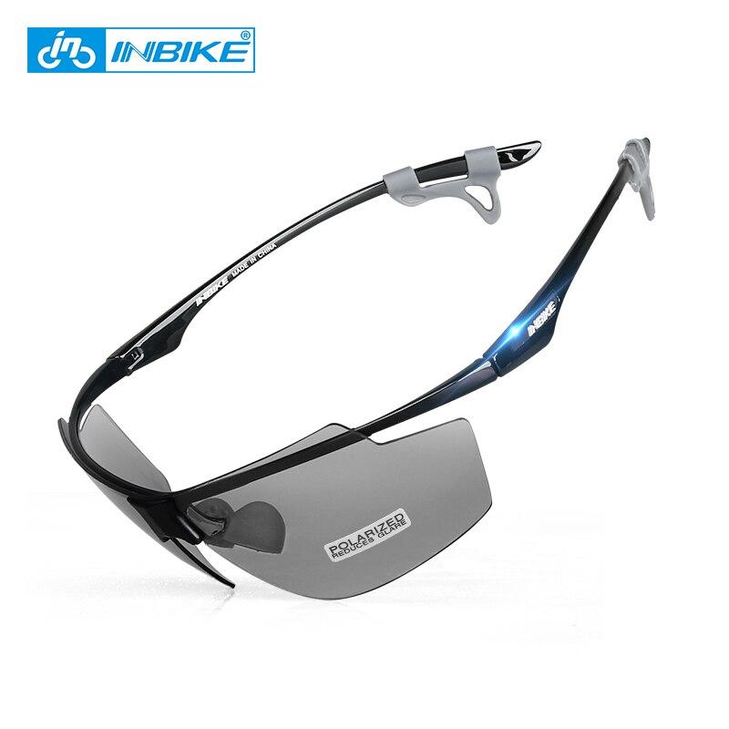 INBIKE lunettes de cyclisme polarisées lunettes de Sport ultra-légères vtt lunettes de vélo coupe-vent hommes femmes course vélo lunettes de soleil uv400