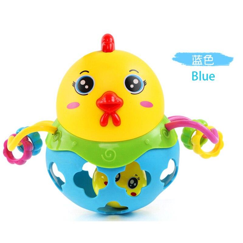 Byfa 1PC Rattles Handbell Shaking Baby Toy Kid Educational