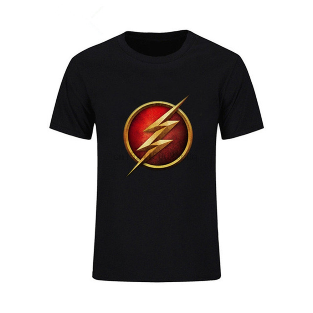 8f9b411d Buy sheldon flash t shirt and get free shipping on AliExpress.com