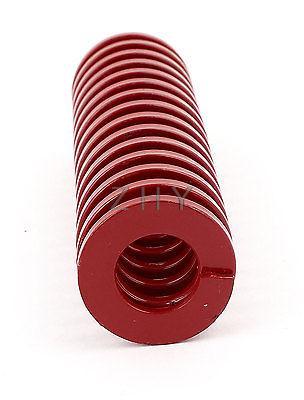 TM 50 мм OD 25 мм ID 300 мм 350 мм 400 мм 450 мм 500 мм Длина Красная Средняя нагрузка 65Mn металлическая спиральная штамповочная прессформа прессформы - 2