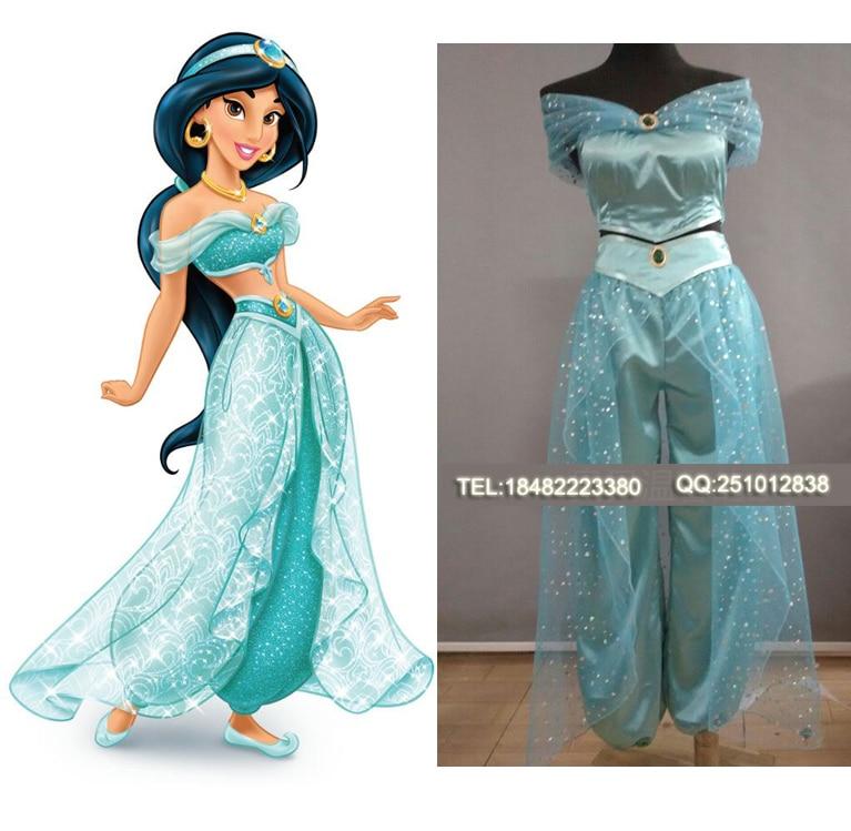 Achetez en gros jasmin costume adulte en ligne des grossistes jasmin costume adulte chinois - Costume princesse disney adulte ...