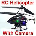 Пульт дистанционного Управления toys видео Металла Гироскопа 3.5 CH RC Вертолет С Камерой wl s977 ID2 NSWB
