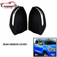 CITYCARAUTO CAR CHORMED STYLING AUTO DOOR SIDE MIRROR COVER REAR MIRROR COVER TRIMS FIT FOR TOYOTA