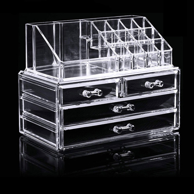 Makeup Cases Bag Tool Accessories Drawer Type Space Make Up Brush Shelf Lipstick Skin Care Large Capacity Maquillage Rack