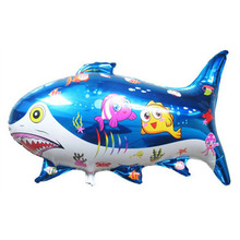 73x47cm ballons balloon fish inflatables toys kids baby children party decoratio