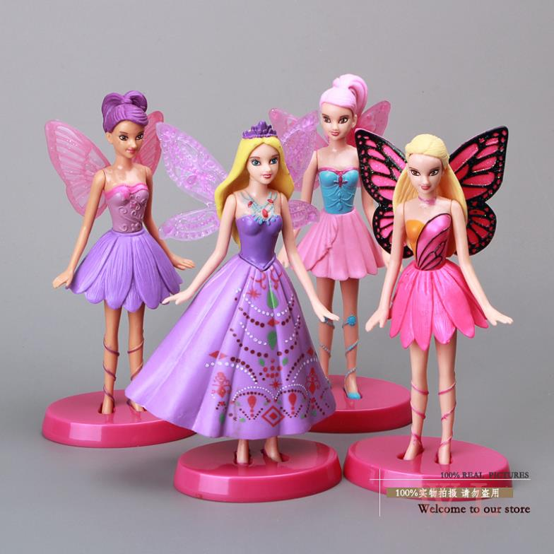 Girl Toy Figures : Quot flying tinkerbell fairy adorable tinker bell pvc action