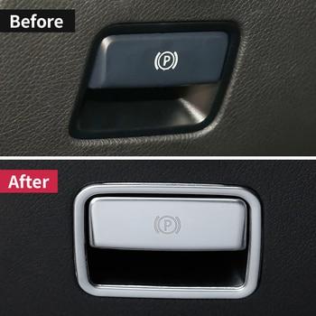 For Mercedes Benz ML350 2012 320 GL450  amg gle  W166 GLS63 350d  A w176 B W246 GLA X156 Parking Hand Brake Sticker accessories 1