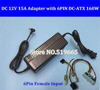 Pcie 6pin 12V 160W 24Pin ATX Switch Pcio PSU Car Auto Mini ITX And AC Converter