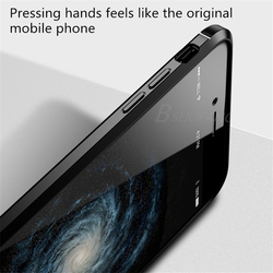 BSLIUFANG Luxury Shockproof Matte Cover For iPhone 6 7 8 Plus 6s TPU Leather Soft Case For Phone Case iPhone X XR XS Max Cover 3