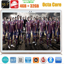 DHL Free Android 5 1 OS 10 inch tablet pc Octa Core 4GB 32GB 8 Cores