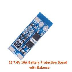 2 s/s 3 s/4S литий-ионный батарея 18650 зарядное устройство PCB BMS защиты доска Lipo ячейки модуль с баланс