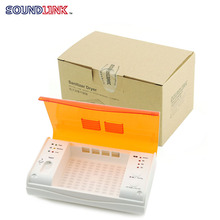 Free Shipping! Electrical Hearing Aid Dehumidifier Sanitizer Dryer Drybox Drying Case Protect Earmolds and Hearing Aids