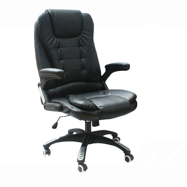 Haute Qualite Simple Moderne Chaise De Bureau En Acier Solide Support Levage Patron Epaississement