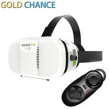 VR BOBOVR Z3ความจริงเสมือนแว่นตา3D xiaozhai IIIหัวหน้าเมาG Oogleกระดาษแข็งHDหูฟัง+โทรศัพท์บลูทูธเมาส์ควบคุม