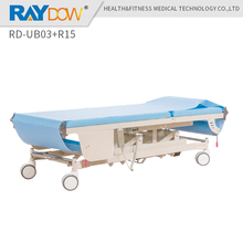 RD-UB03+R15 Raydow auto changing paper medical massage bed with 4 castors(China)