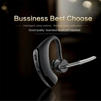 Nosie Cancelling Wireless Bluetooth 4 1 Earphone Sport Headset With Microphone Earhook Earbuds For IPhone Samsung